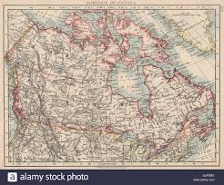Colonial America Map Map Of British North America Or The Dominion Of Canada 1870s