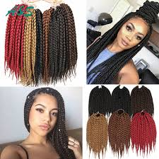 spring twist braid hair 14 quality crochet braids hairstyles box braids hair synthetic
