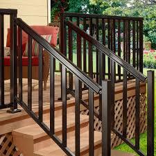 creative home depot handrails exterior home design popular