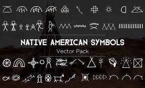 native american symbols vector pack by go media
