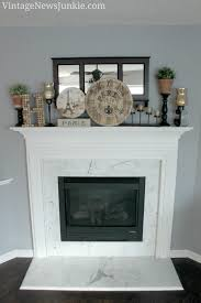 a vintage inspired french parisian mantel reliving happy memories
