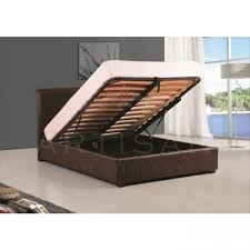 Super King Ottoman Storage Beds by Artisan Faux Leather Ottoman Bed Frame With Storage
