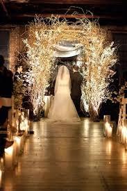 wedding altars 26 winter wedding arches and altars to get inspired happywedd