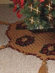 free crochet christmas tree skirt patterns crochet blanket