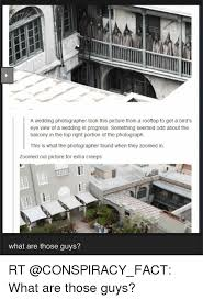 Wedding Photographer Meme - a wedding photographer took this picture from a rooftop to get a