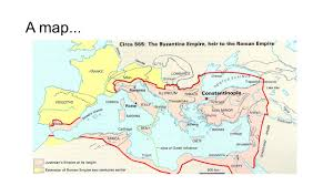 Byzantine Empire Map Byzantine And Islamic A D A D 1453 Ppt Video Online Download