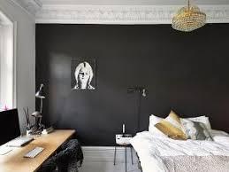 Chambre Mur Et Noir Match Noir Gris Par Regards Et Maisons