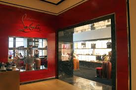 the style examiner christian louboutin opens men u0027s boutique at