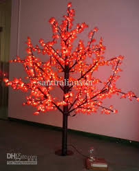 2018 ac110 240v 1 8m outdoor artificial pine trees led lighted