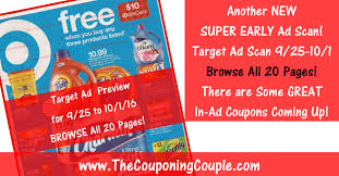 target black friday 2106 target ad scan for 9 25 to 10 1 16 browse all 20 pages