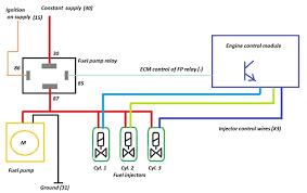 relay wire diagram fuel pump relay wiring diagrams collection