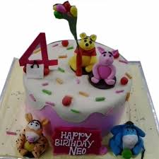 and friends cake pooh and friends cake in bangalore buy cakes online in bangalore