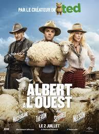 film de cowboy albert à l ouest dvdtoile
