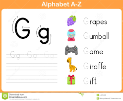Free Alphabet Tracing Worksheets Alphabet Tracing Worksheet Stock Vector Image 44028488