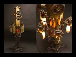 steampunk lamp ideeas youtube