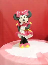 minnie mouse cakes how to make standing minnie mouse fondant cake topper snapguide