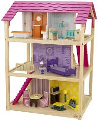 amazon com kidkraft so chic dollhouse with furniture toys u0026 games