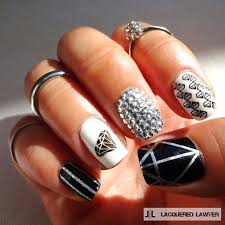 lacquered lawyer nail art blog shine bright like a diamond