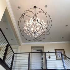 Sphere Chandelier With Crystals Sphere Chandelier With Crystals Futuresharp Info