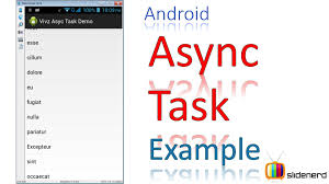 asynctask android exle 184 android asynctask exle