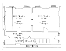 Two Level Floor Plans The Floor Plan Of The Main Building Of Fort Conde Village U0027s Spear