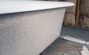 How To Refinish A Clawfoot Bathtub Clawfoot Bathtub Refinishing U2022 Unique Stone Resurfacing