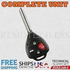 2011 toyota camry key fob battery corolla key keyless entry remote fob ebay
