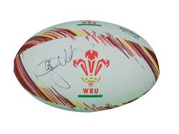 How Old Is The Welsh Flag Wales Signed Rugby Ball Ebay