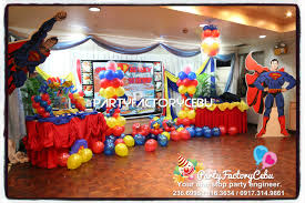 Invitation Card Superman Welcome To Partyfactory Cebu Jake Francis 1st Superman Birthday Party