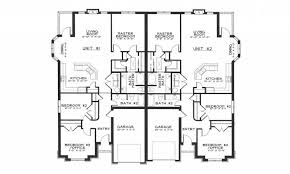 duplex house floor plans uncategorized simple 1 story house plan stupendous with amazing
