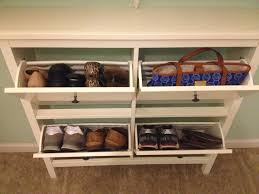 Small Bench With Shoe Storage by Shoe Rack Hallway
