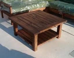 Patio Coffee Tables Lay Z Day Custom Wood Outdoor Table Sets Lay Z Day Custom Indoor