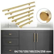 modern kitchen cabinet door knobs details about stainless steel t bar modern kitchen cabinet door handles drawer pulls knobs lot