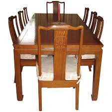 Vintage Dining Room Furniture Burmese Thai Rosewood Vintage Dining Table And Chairs From
