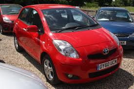 used toyota yaris tr 1 0 cars for sale motors co uk