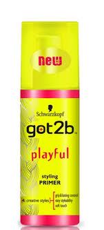 yellow primer schwarzkopf got2b playful styling primer bubblebox