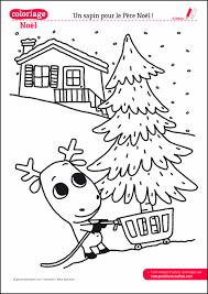 Coloriage de Noël à imprimer  Coloriage  Le sapin du Père NOel