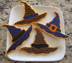 halloween witch hats cookie connection