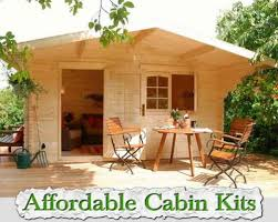 affordable cabin kits 500x399 jpg