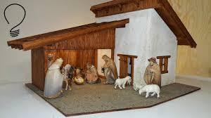 nativity scene out of wood part 3 of 3 roof shingles and