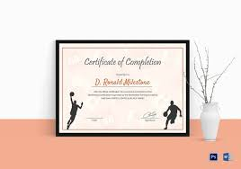 examples of certificates of completion 26 completion certificate examples u0026 samples