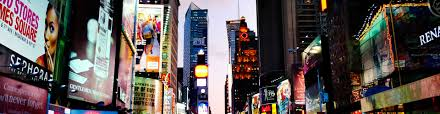 New York City Time Square Map by Microsoft Technology Center New York
