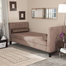 furniture metal daybed with trundle backless chaise sofa