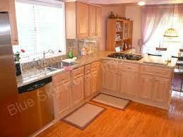 Light Colored Kitchen Cabinets by Light Colored Oak Cabinets With Granite Countertop Hill