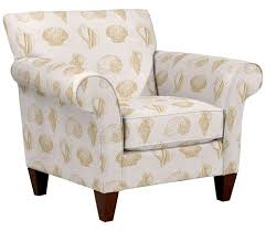 Fabric Chairs For Living Room Upholstered Beach Fabric Accent Chairs And Ottomans By La Z Boy