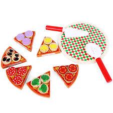 baby spielzeug rrial kinder spielzeug pizza essen spiel montessori - Kinder Spiel K Che