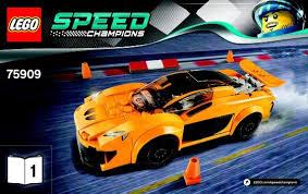 speed chions mclaren mclaren p1 instructions 75909 speed chions