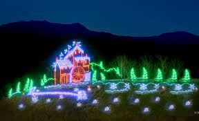christmas light show pigeon forge tn pigeon forge winterfest guide lights schedule map