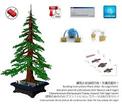 lego bonsai american sequoia redwood only from ebay