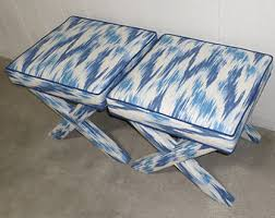 Pillow Top Bench View Custom X Benches By Livenupdesign On Etsy
